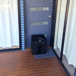 Package delivery box front porch